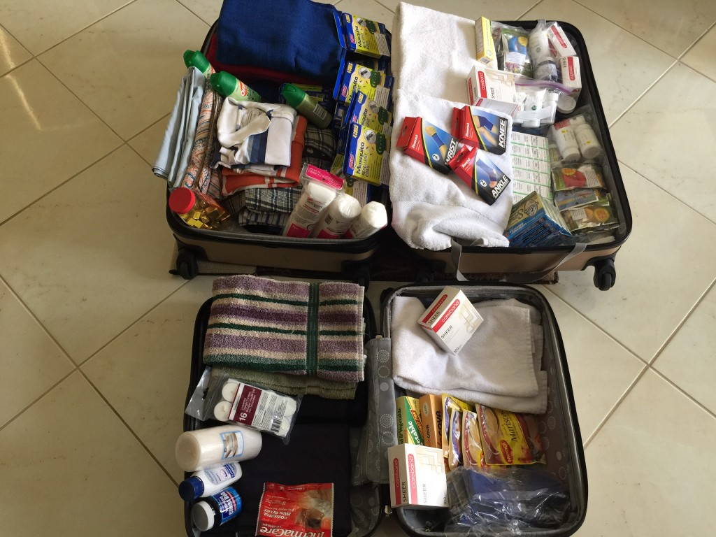 Donations for victims of the 2016 earthquake in Ecuador