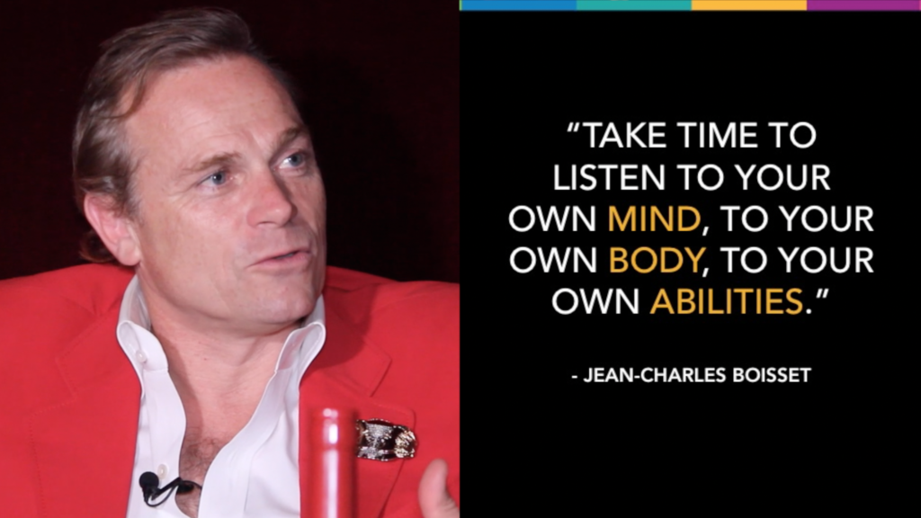 mamas con ganas uniqueness quote from JCB Jean-Charles Boisset Raymond